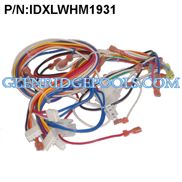IDXLWHM1931  Hayward Heater Wire Harness, Main IDL 120VAC P/N