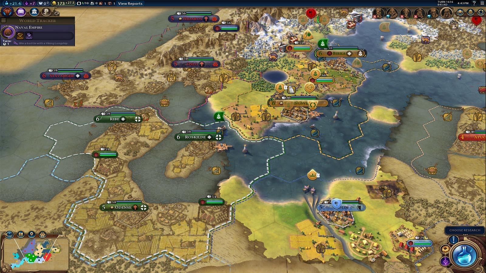 Microsoft Fall Wallpaper Civilization Vi Vikings Scenario Pack Cl 233 Cd Steam