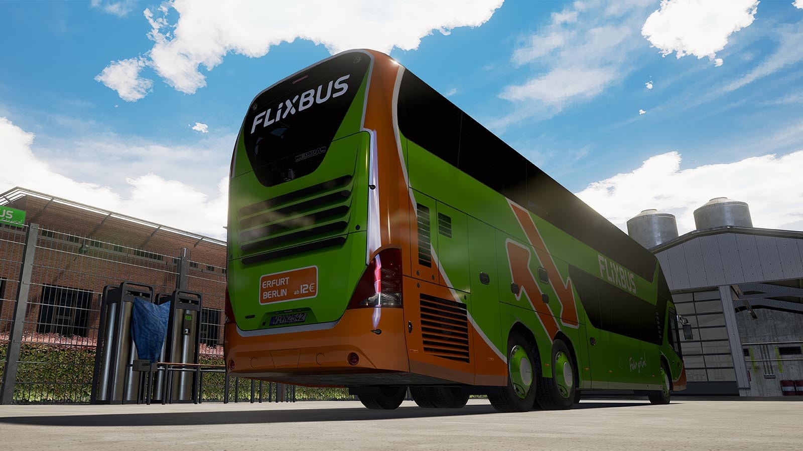 Bus Erfurt Berlin Fernbus Coach Simulator Add On Neoplan Skyliner Steam Cd Key For Pc Buy Now