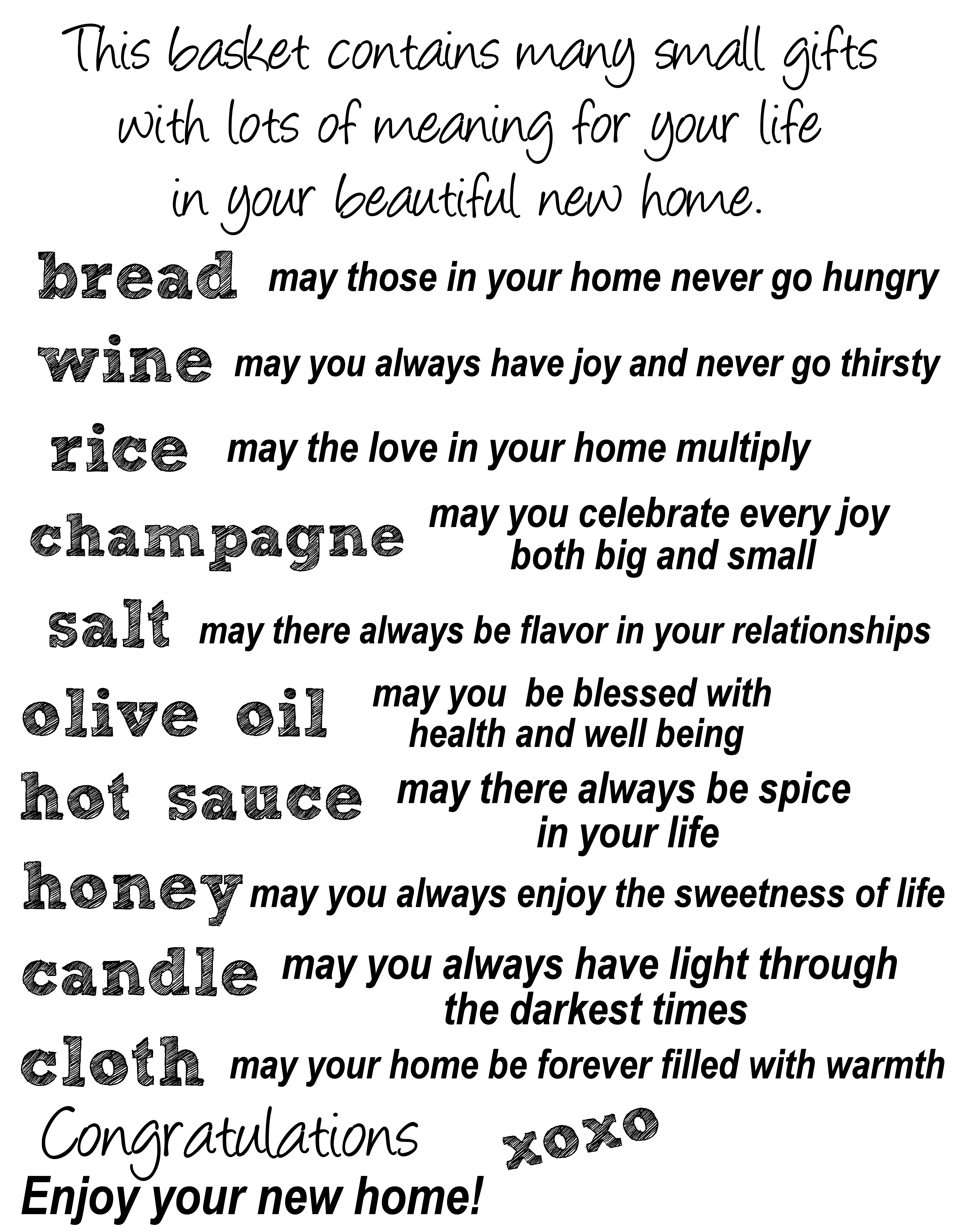 Traditional Gifts For New Homeowners Diy Housewarming Party Gift Basket With A Sentimental Twist