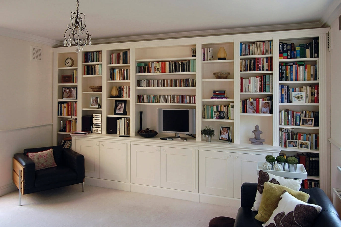 Living Room Storage Units 15 The Best Fitted Cabinets Living Room