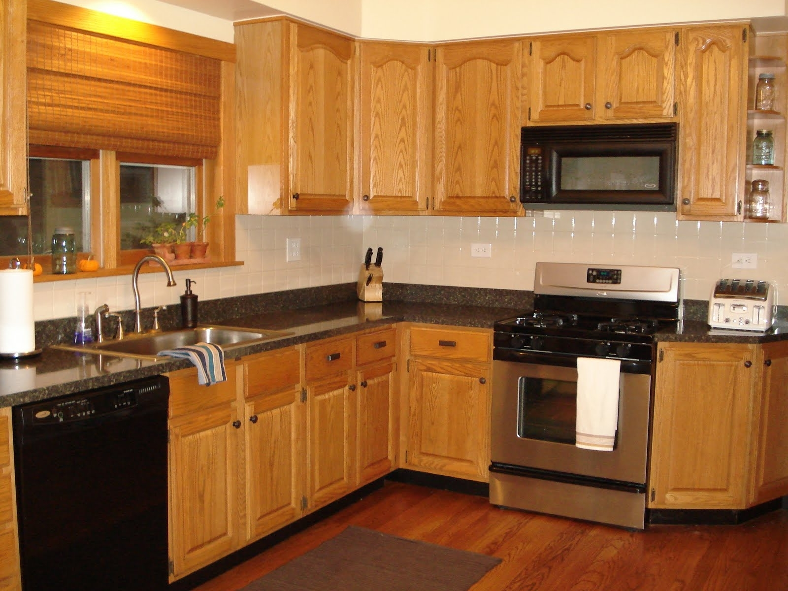 Used Oak Kitchen Cabinets 15 The Best Oak Cupboards