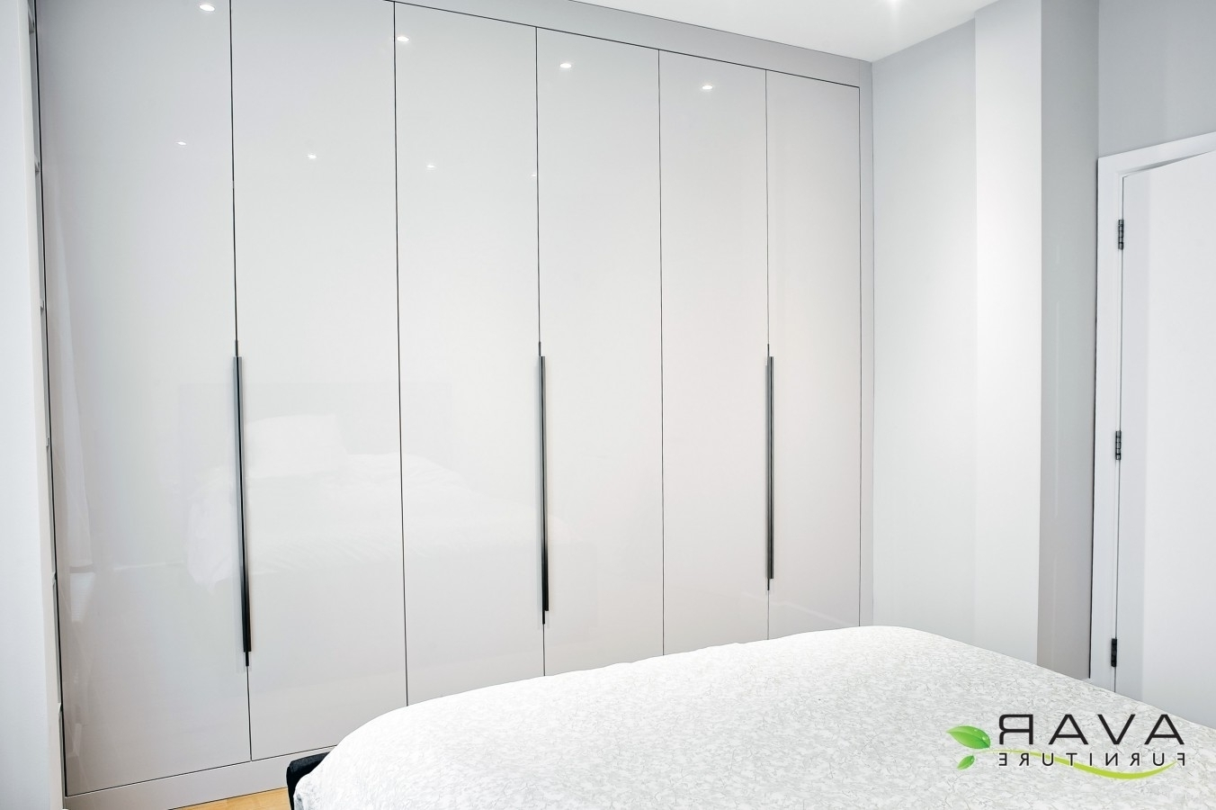 White Bedroom Wardrobes 15 Best Collection Of High Gloss White Wardrobes
