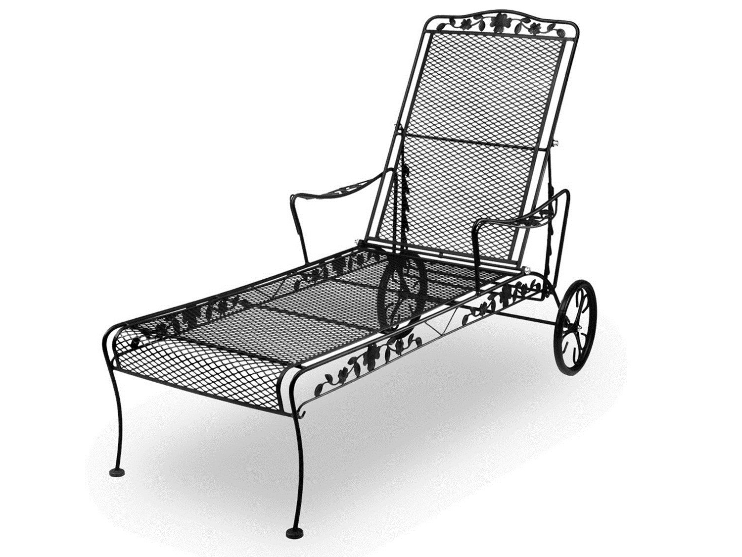 Best Chaise Lounge Chairs 15 Best Wrought Iron Outdoor Chaise Lounge Chairs