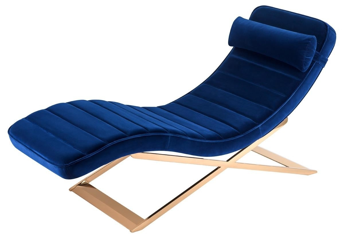Best Chaise Lounge Chairs Best 15 43 Of Gold Chaise Lounge Chairs