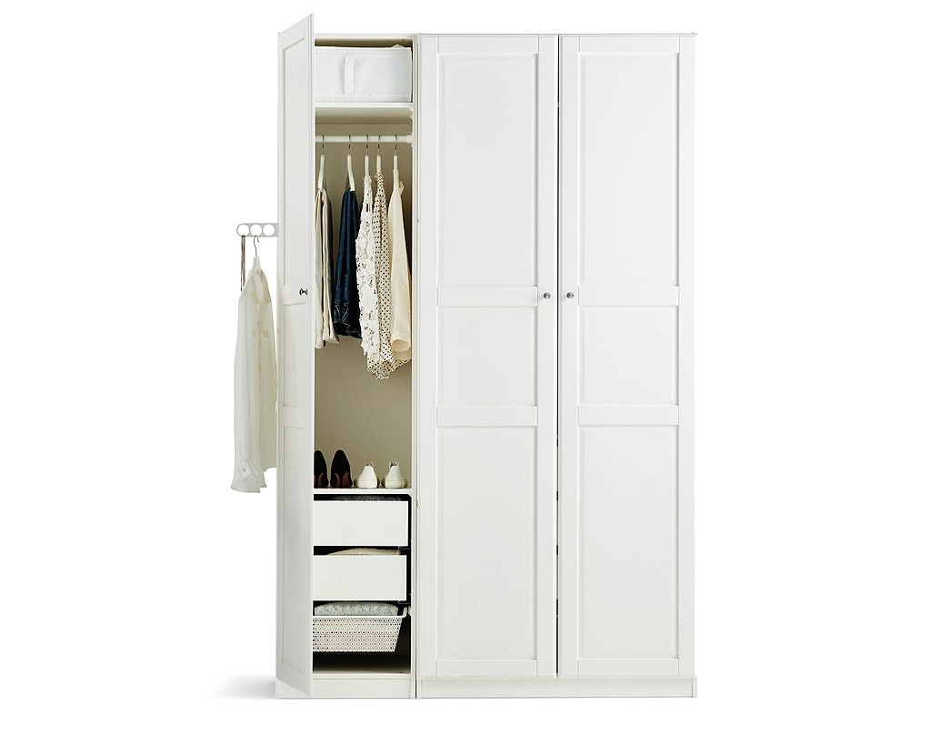 Cheap Wardrobes 15 Collection Of White Cheap Wardrobes