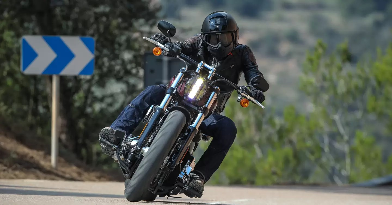 Harley Davidson Breakout 114 Review 2018 British Gq