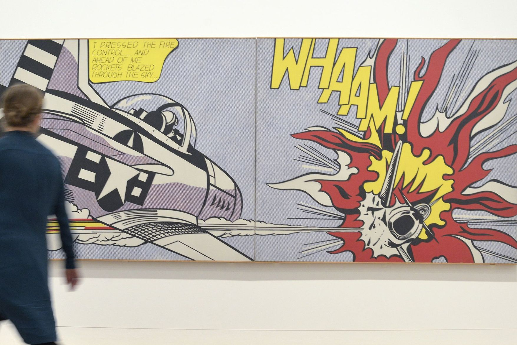 Roy Lichtenstein Cuadros Lichtenstein Hockney And Warhol The Pop Art That Changed