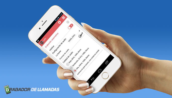 Aplicación para grabar llamadas en Android Fácil y gratis