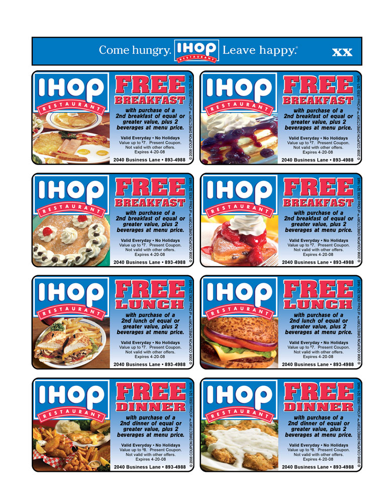 Find IHOP Printable Coupons? Grab Your Printable Coupons