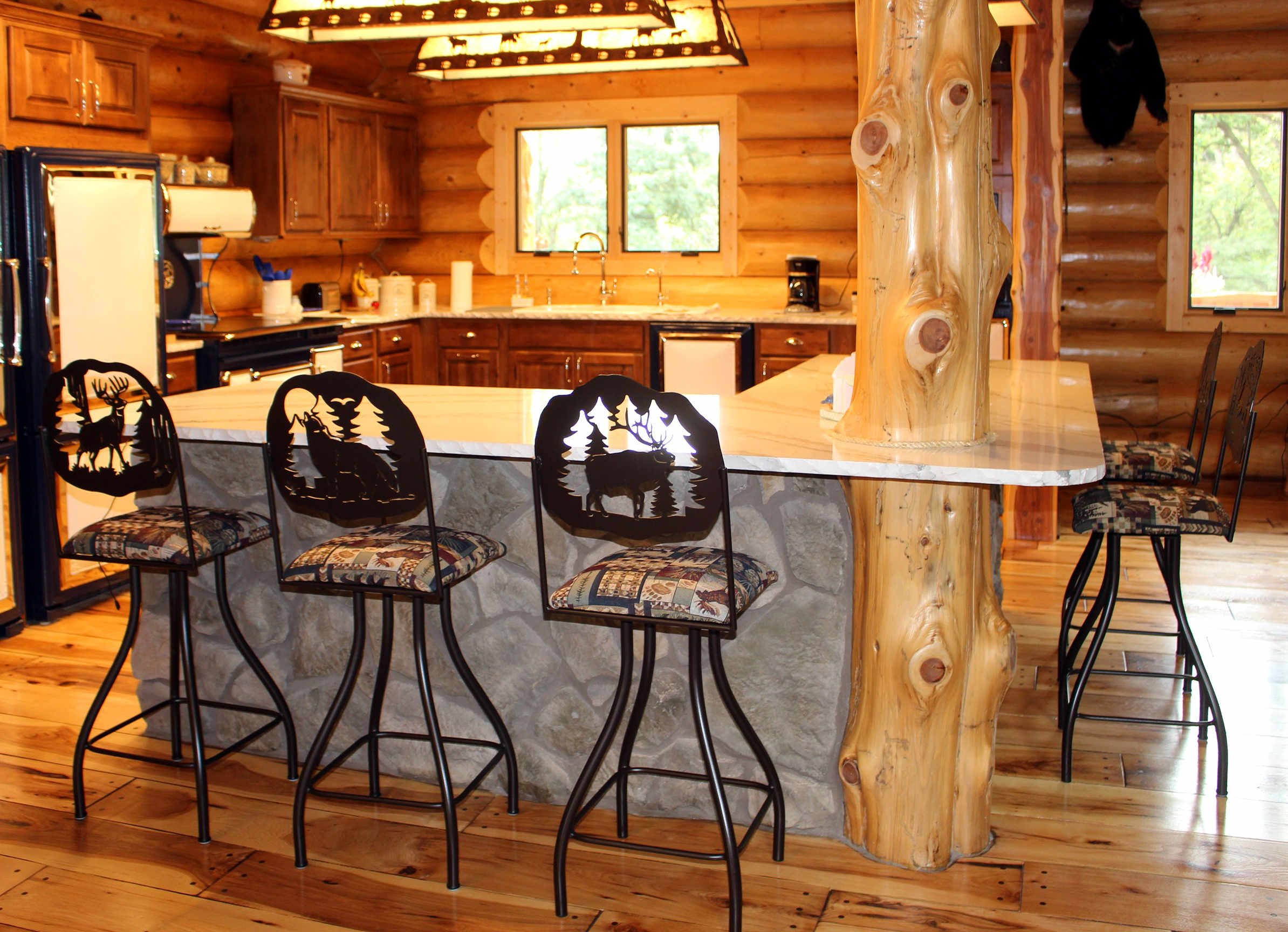 Kitchen Counter And Stools Rustic Bar Stools And Furniture