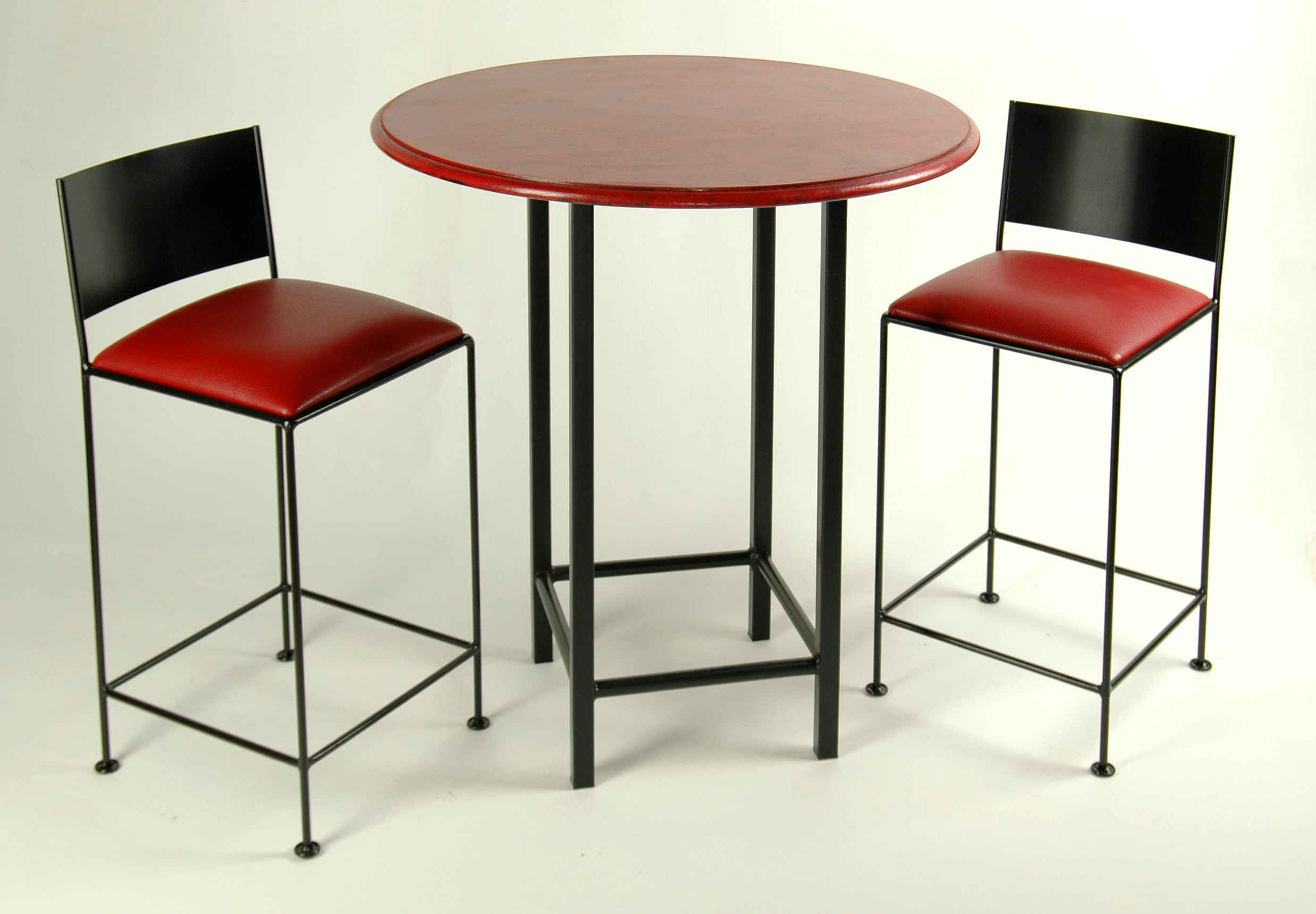 Bar Stools And Table Set Tall Bar Tables Wrought Iron