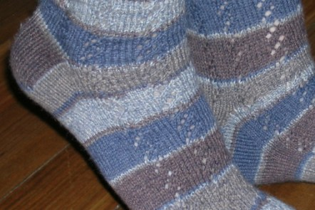 Waterfall Socks