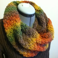 Easy Peasy Knit Cowl