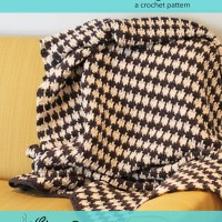 Houndstooth Afghan Pattern Available