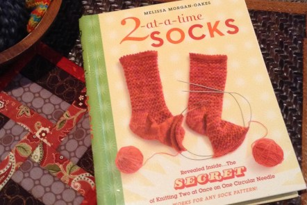 Book: 2-at-a-time socks