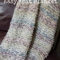 Weekend Project: Free Easy Knit Blanket Pattern