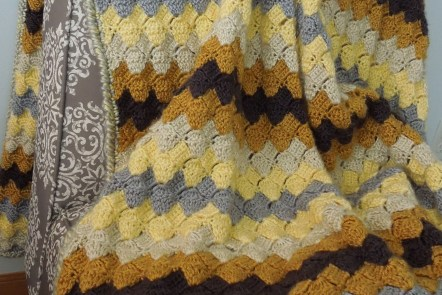 Rapids Stitch Afghan Pattern by Grace Elizabeths (www.graceelizabeths.com)