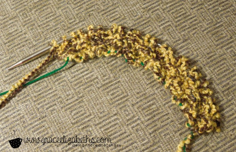 Yarn Stash Buster: Cowl Cast On - Free Pattern