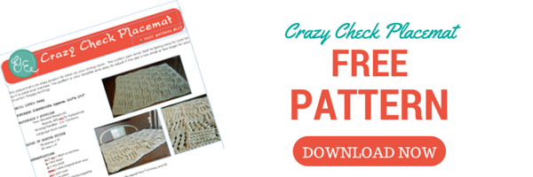 Pattern Crazy Check Placemat (1)