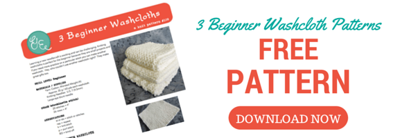 3 Beginner Washcloth Patterns for FREE Download