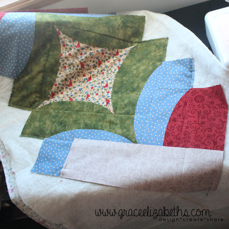 quilt as you go quilting technique