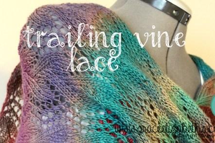 Trailing Vine Lace Scarf Pattern by Grace Elizabeth's
