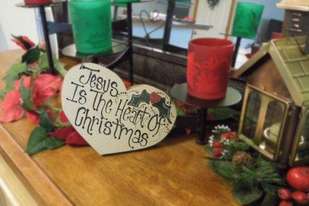 Jesus is the Heart of Christmas by Grace Elizabeths