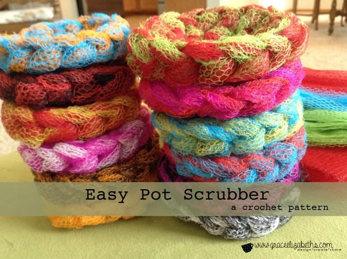 FREE Pattern: Easy Pot Scrubber - Grace Elizabeth\'s