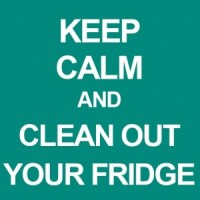 Keep your fridge clean. -- GracefullyPrimal.com