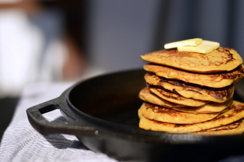 Triple Duty Paleo Pancakes -- GracefullyPrimal.com. Grain-free, gluten-free, flourless, sugar-free and paleo!