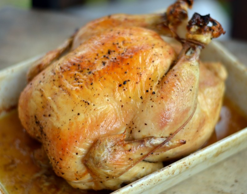 The Roast Chicken That Changed My Life -- GracefullyPrimal.com