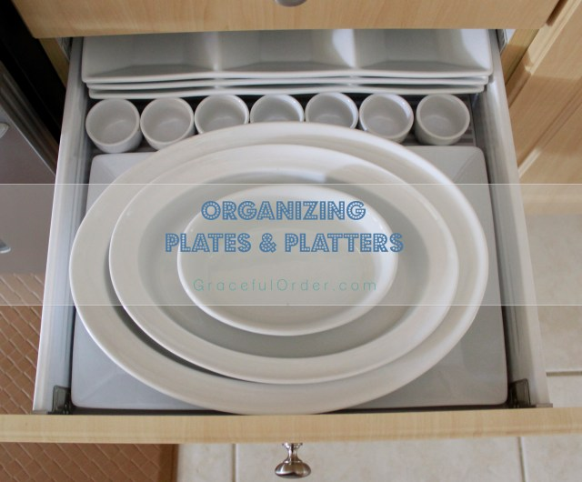 Organizing Plates and Platters