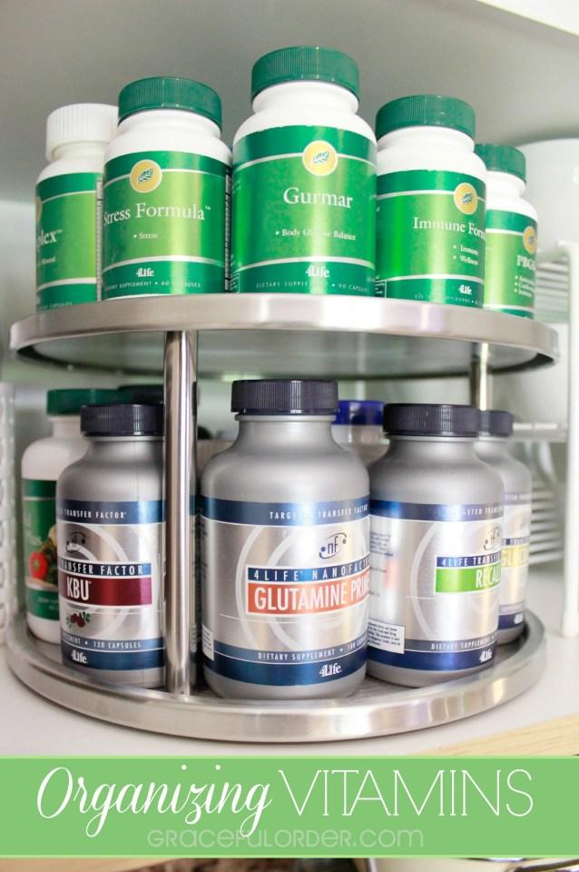 Organizing Vitamins