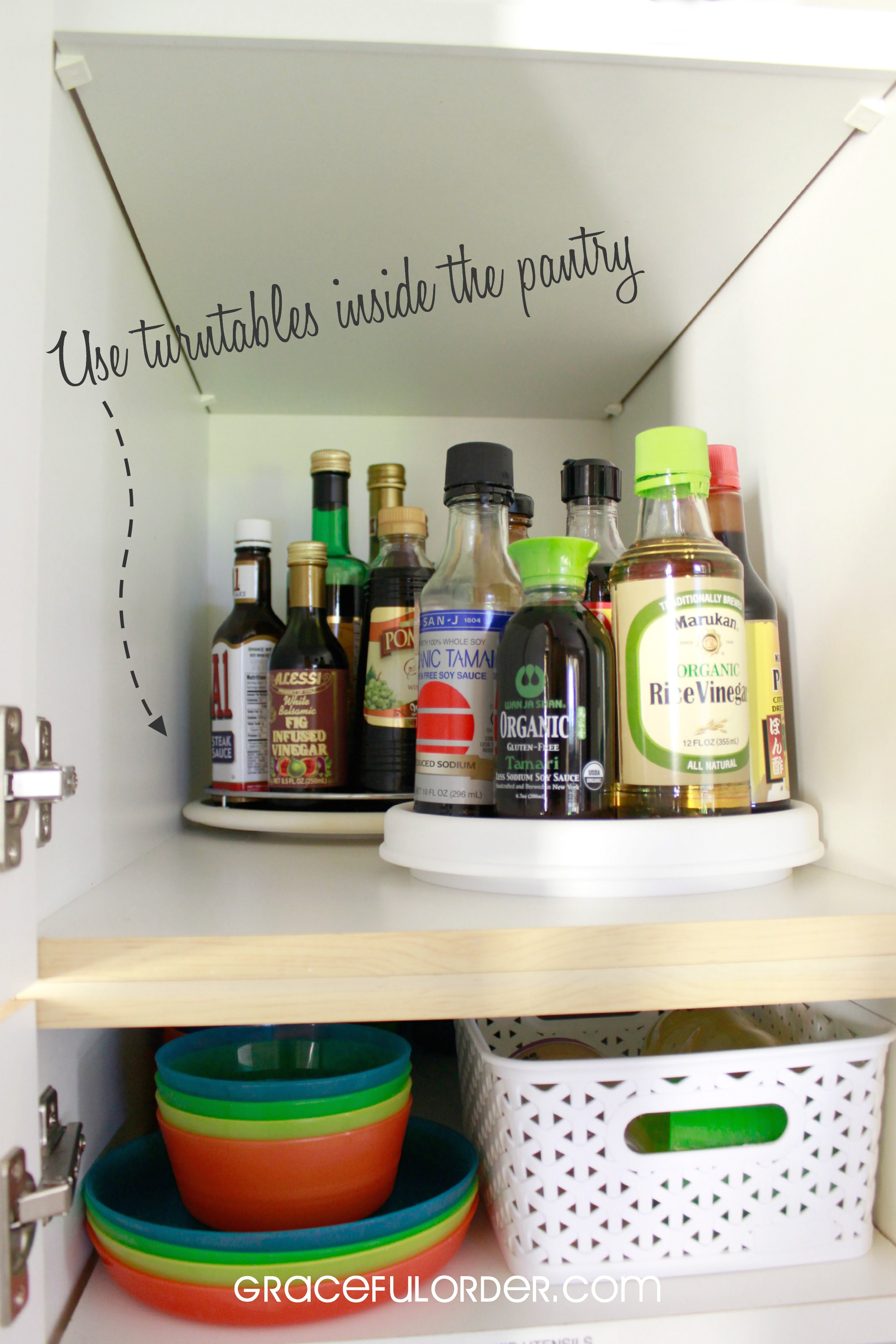 Genial Organizing A Deep Pantry Cabinet