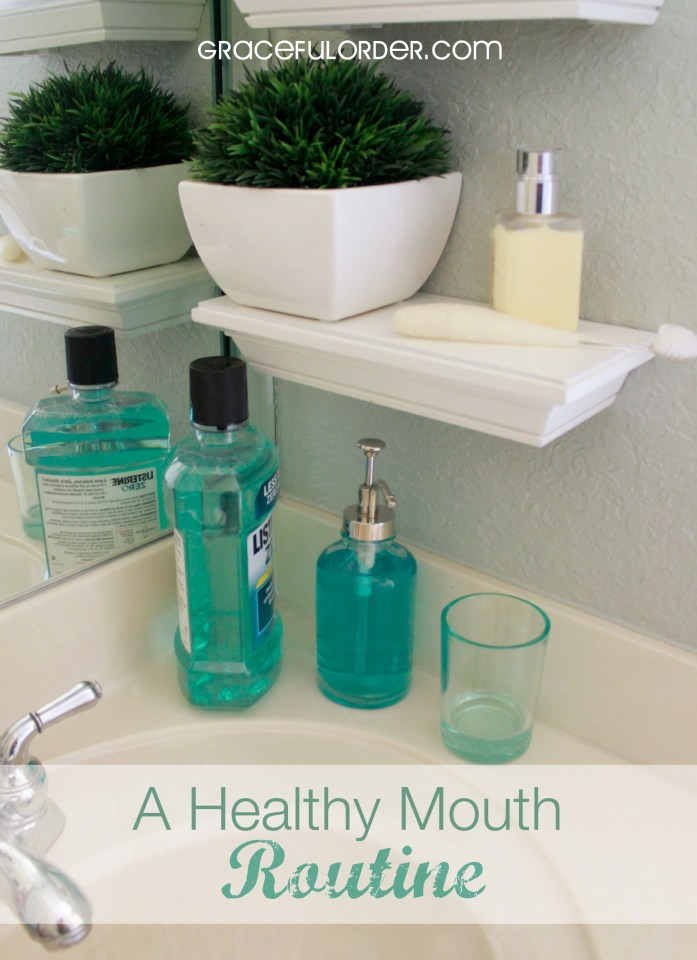 A Healthy Mouth Routine and an Awesome Giveaway