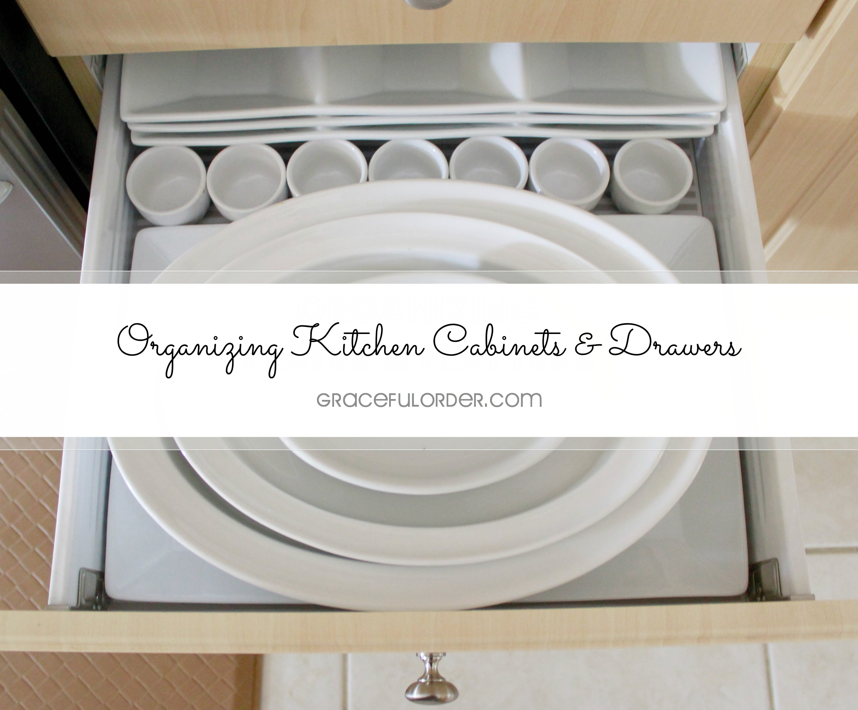 organizing kitchen cabinets Archives Graceful Order