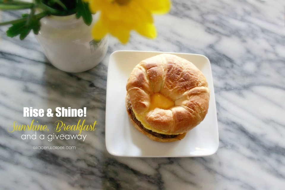 Sunshine, Breakfast and a Giveaway!