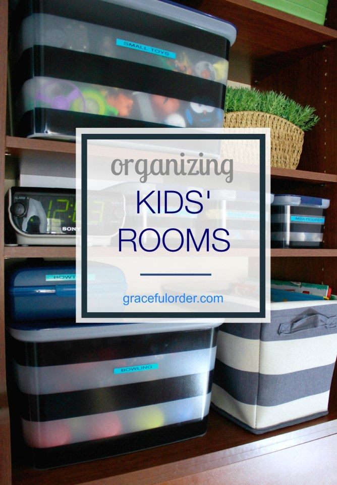 Organized Home Week 6 - Kids Bedrooms