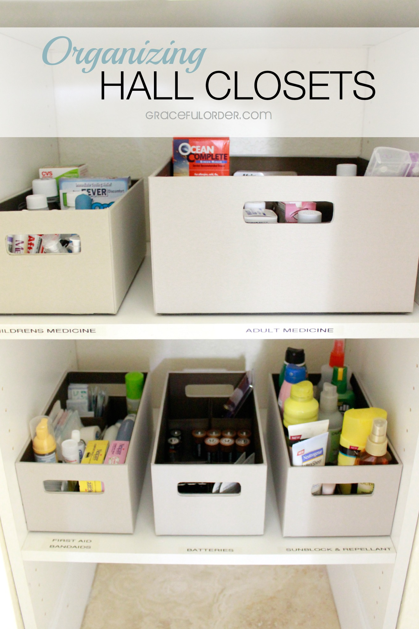 Hall Closet Organization Ideas Part - 45: Organized Home Week 8 - The Hall Closet