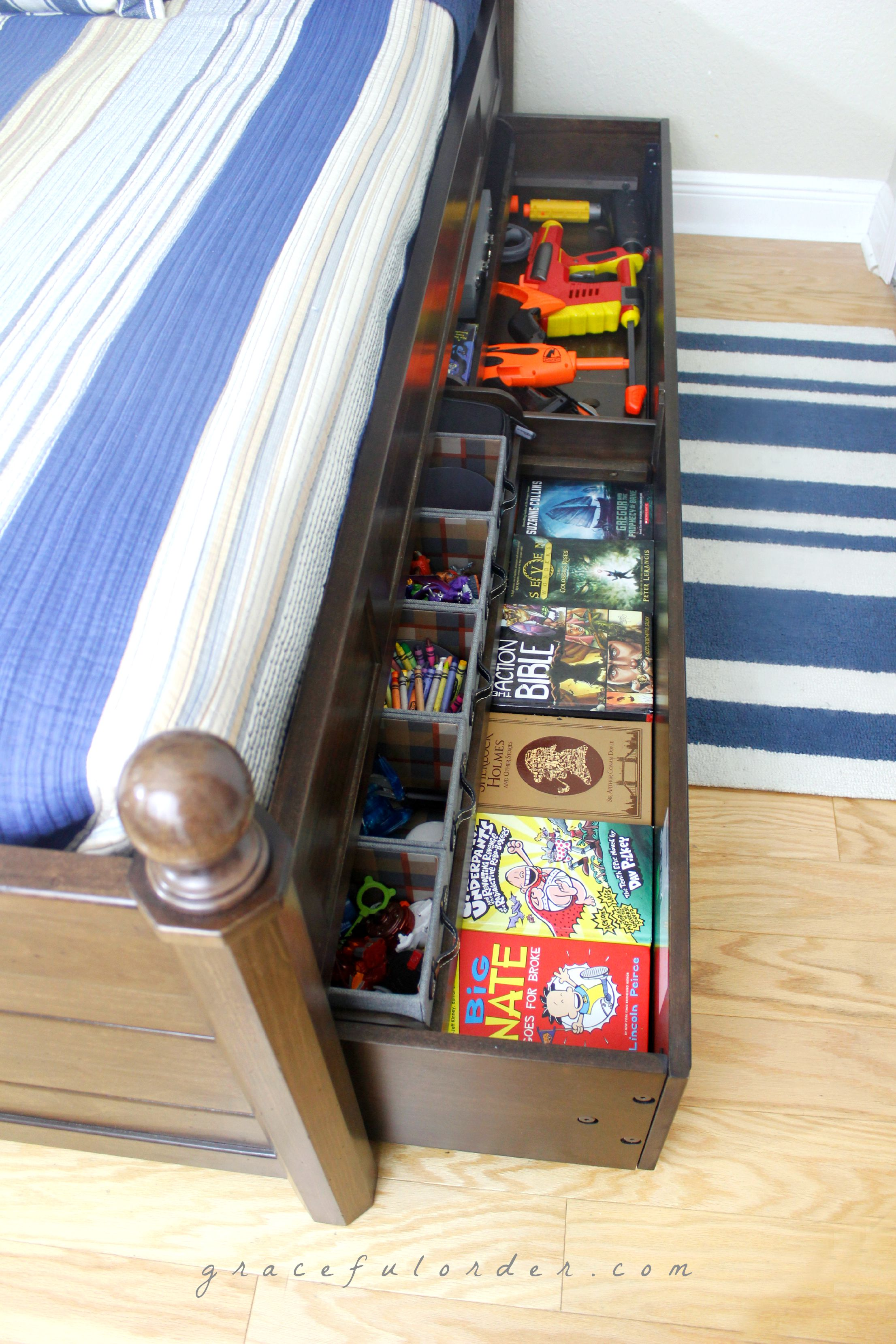 Teen Tween Bedroom Organization