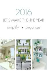 Simplify Organize 2016