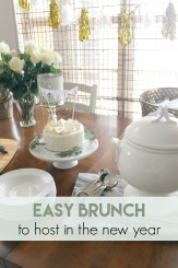 Easy Brunch to Host In The New Year