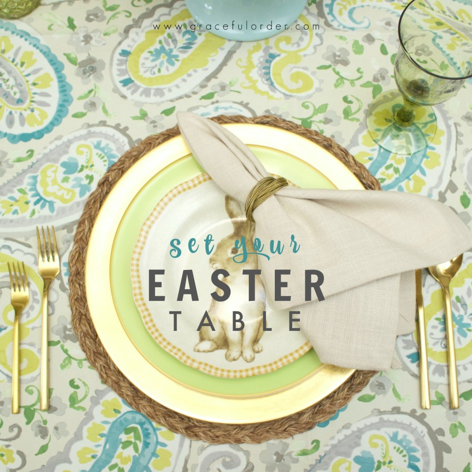 Set Your Easter Table
