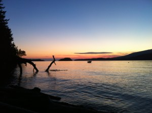 Bowen Island sunset