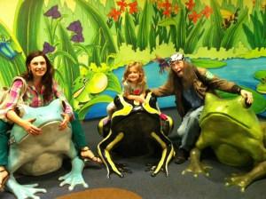 Making memories at the aquarium!