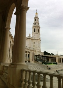 The new church at Fatima.