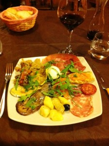My favorite meal in Italy at Fil & Max Taverna in San Giovanni Rotundo.