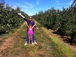 Family apple picking adventure!