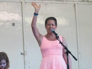 Terri at Blowout 2014